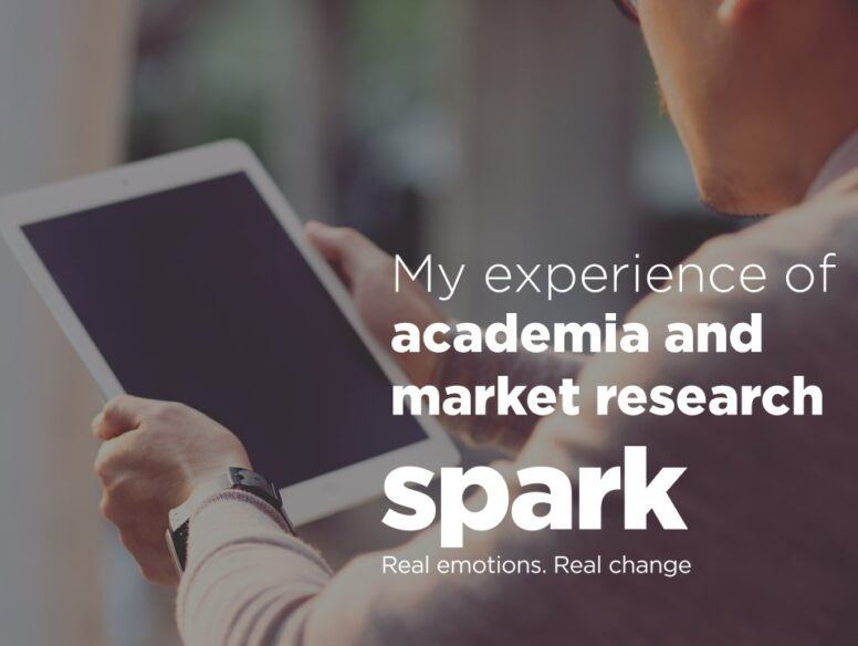 My experience of academia and market research