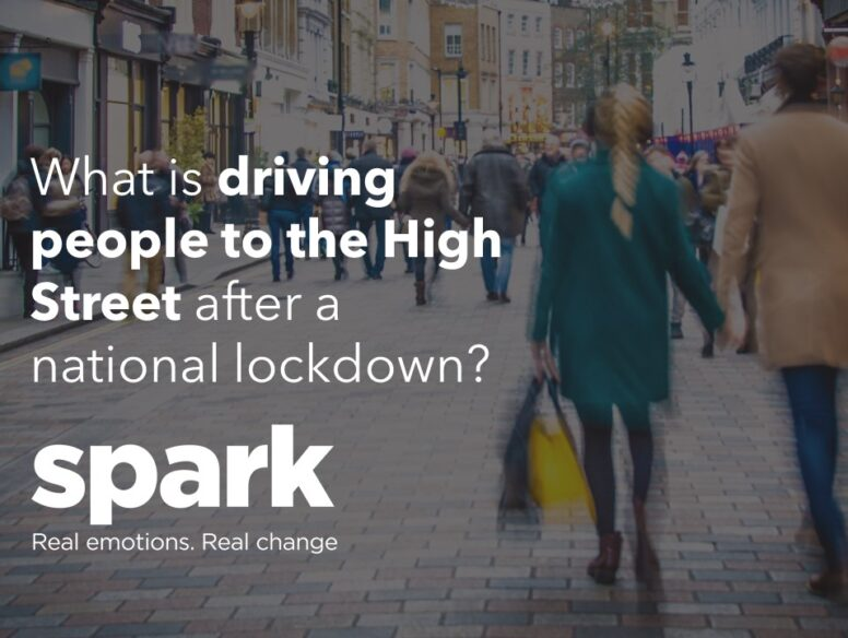 What is driving people to the High Street after a national lockdown
