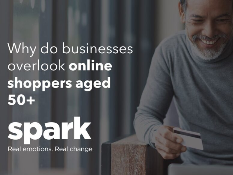 Why do businesses overlook online shoppers aged 50+