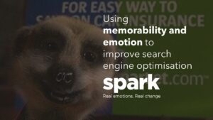 Spark Emotios using memorability and emotion to improve search engine optimisation