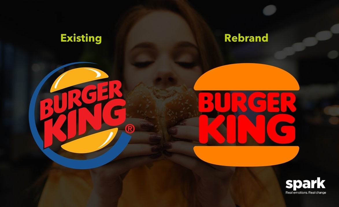 Burger King recently revealed their new retro logo