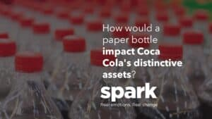 Spark Emotions How will a paper bottle impact cokes distintive assets