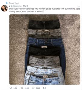Chloe Martin womans size 12 jeans